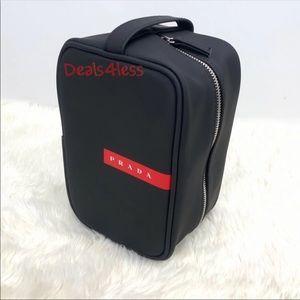 Prada Pouch Toiletry Case Dopp Kit Travel Holdall